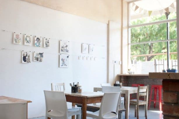 The Drawing Room Cafe in Cape Town
