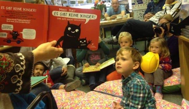 Kinderlesung Buchhandlung Naumann