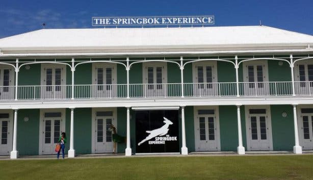 The Springbok Experience Rugby Museum Exterior