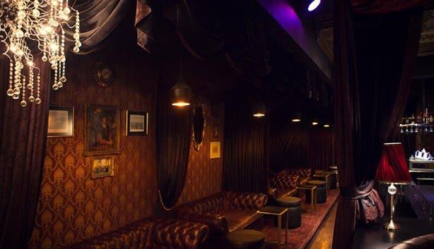 Strip club charles bar action