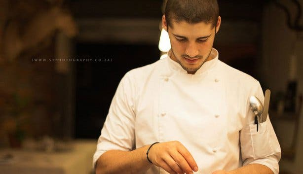 One Man, One Meal: Nicolas Charalambous cooking