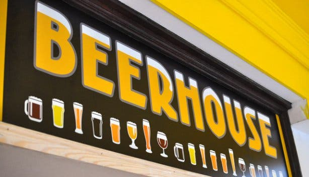 Beerhouse #99 Beers Sign