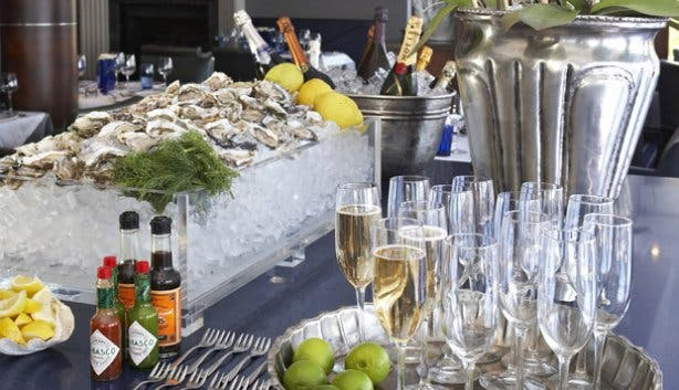 Oysters and Champagne at the 12 Apostles Hotel's Azure