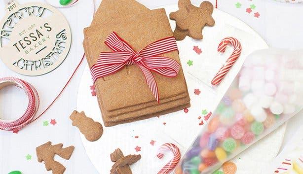 Gingerbread Houses - Tessa's - 1