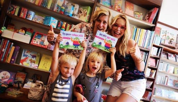 Andrea mit Kindern