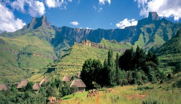 Drakensbergen zuidafrika