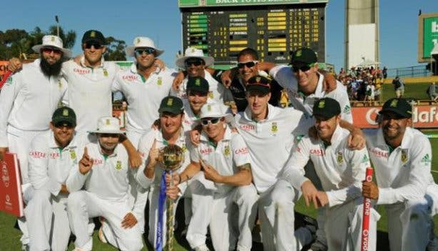 South African test cricket squad 2