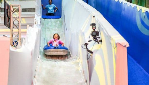 Canal Walk Ice Slide World 5