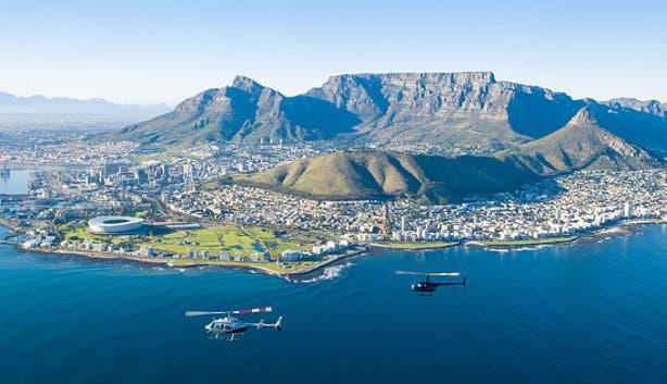 Heli-flip Table Mountain NAC