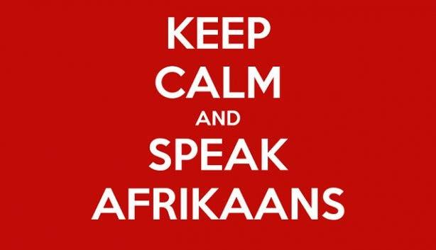 Afrikaanse taal leuke woorden