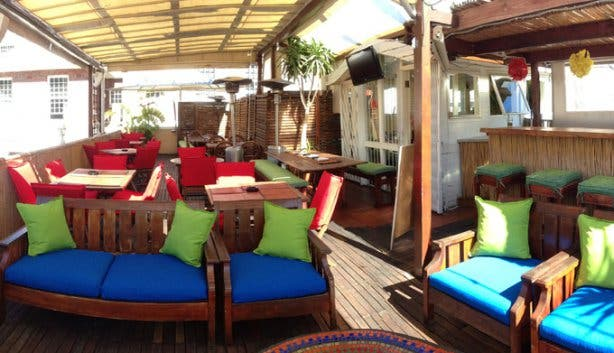 Ricks Restaurant Rooftop Bar Gardens Cape Town