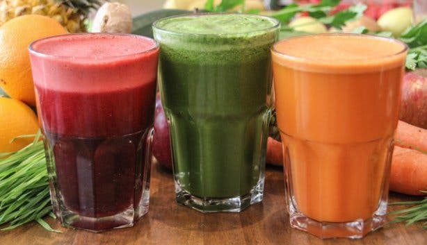 Smoothies and fruit juices from Crush