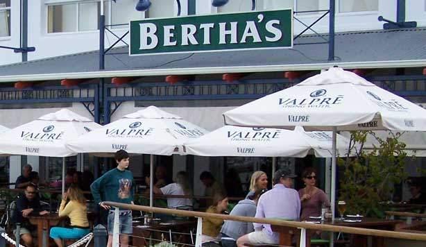 Bertha outside