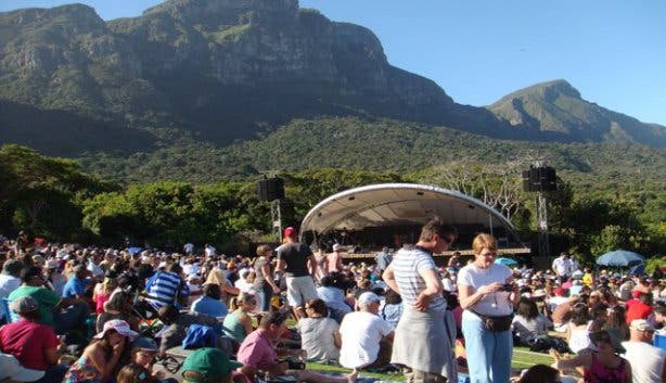 summer concerts at kirstenbosch gardens