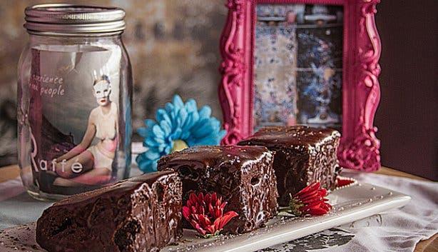 RCaffe Restaurant Long Street Chocolate Cake