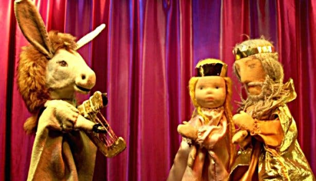 Rainbow Puppet Theatre Little Donkey