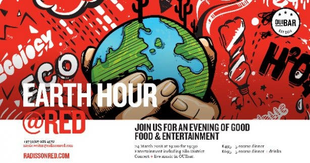 Radisson Red Earth Hour 2018