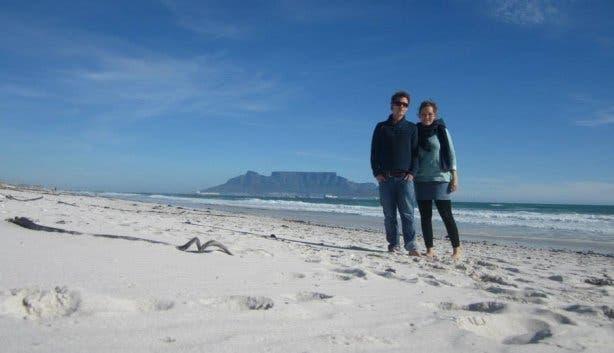 Alex und Ak in Kapstadt, Deutsche in Kapstadt