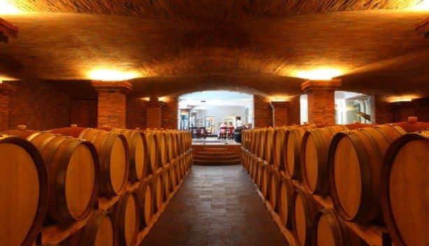 La Motte Tasting Room Cellar