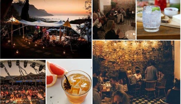 collage cocktailbarren kaapstad