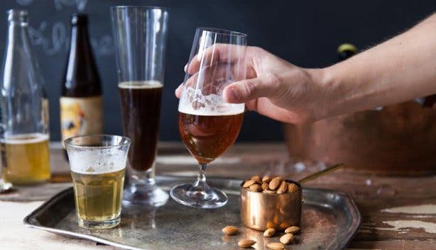 South Africa craft beer and nuts