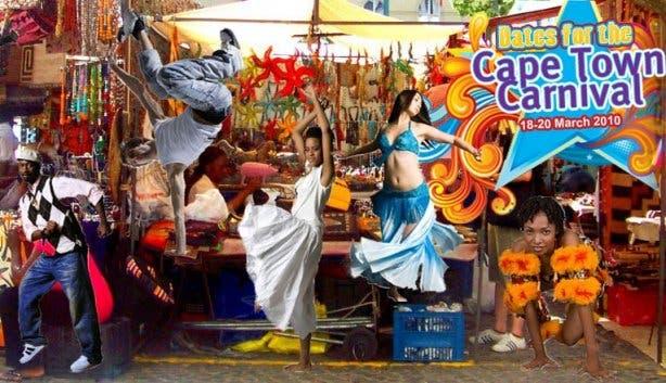 Cape town carnival greenmarket square