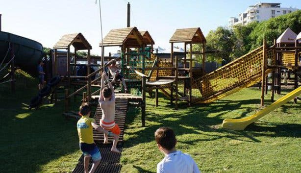 Jungle Gyms for kids activities at Waterworld Strand  Water Park