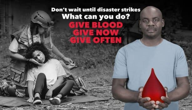 Give blood donate