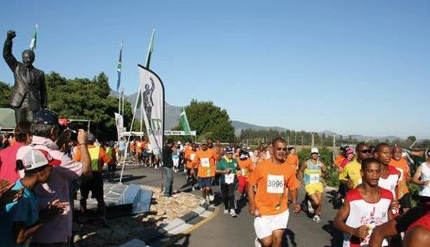 Nelson Mandela 27 for Freedom Run