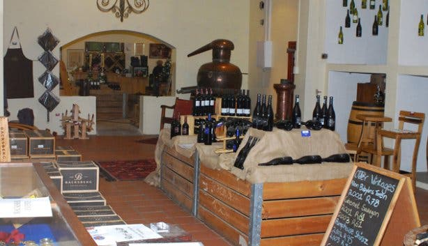 Backsberg wine shop