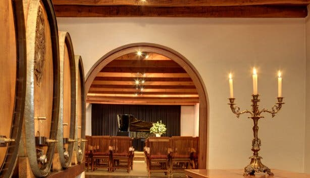 La Motte's historical cellar concerts