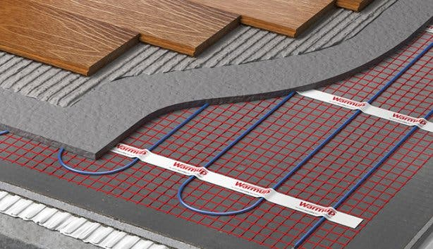 underfloor heater