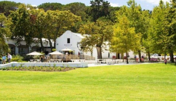 Restaurants at wine estates in Stellenbosch