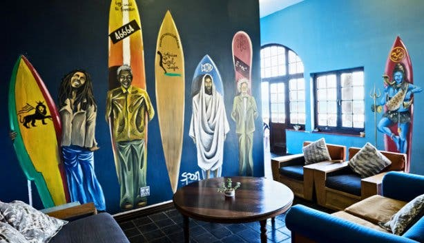 African Soul Surfer Hostel Lounge Cape Town