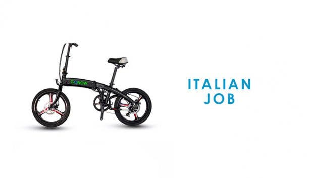 GONOW Bike Italian Job