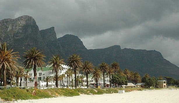 Camps bay overcast