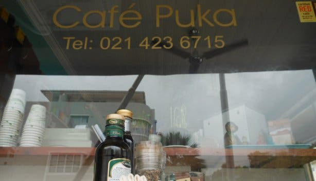 Cafe Puka Window