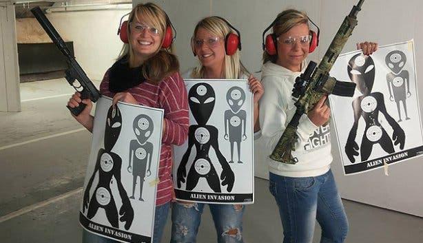 Ladies Night at Gun Fun Cape Town
