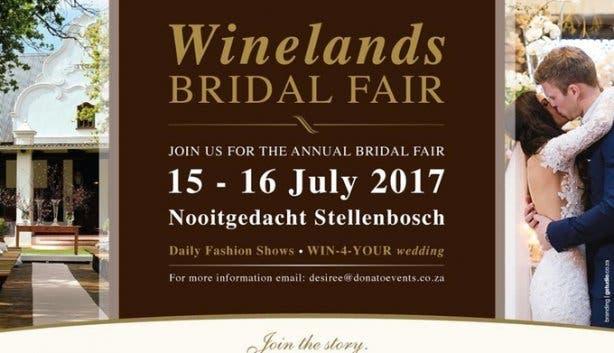 2017 Winelands Bridal Fair Stellenbosch