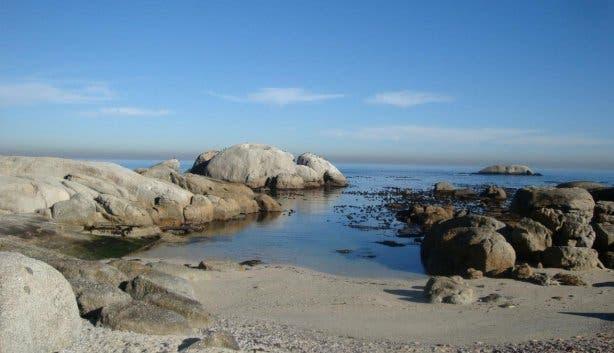Bakoven Beach Kaapstad
