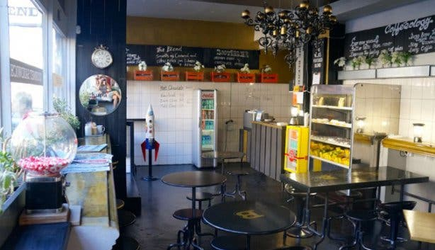 The Blend Coffee Shop Interior Cape Town