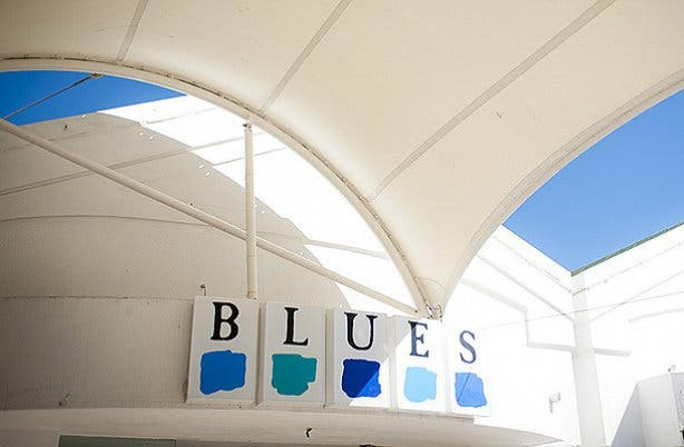 Blues Sign in Camps Bay