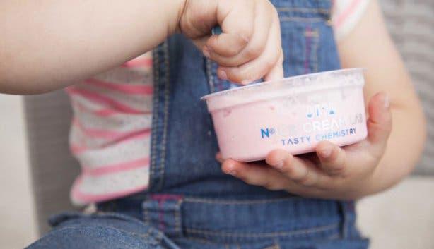 Frozen Dessert N2 Ice Cream Lab
