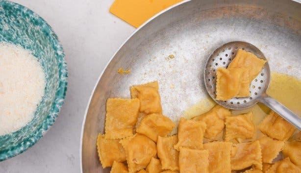 Ravioli homemade italian pasta