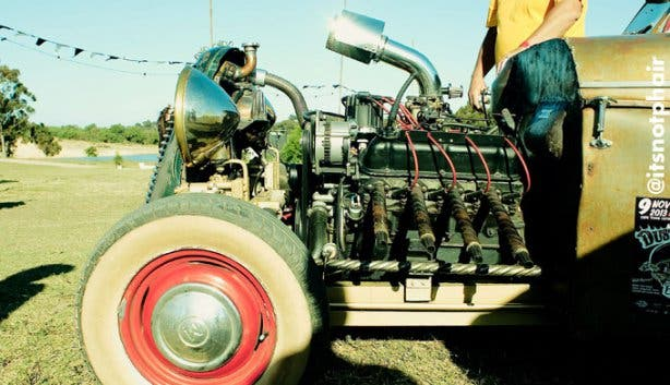 Dusty Rebels & The Bombshells Rockabilly Festival Cars
