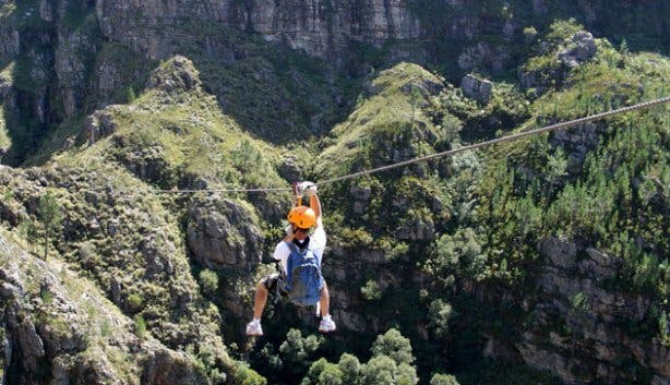Cape Canopy Tour Adventure Activity