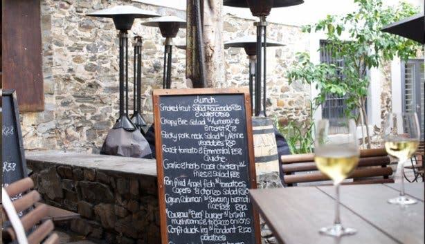 Caveau Restaurant Cape Town