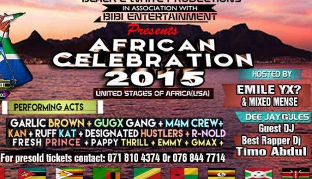 African Celebration 2015