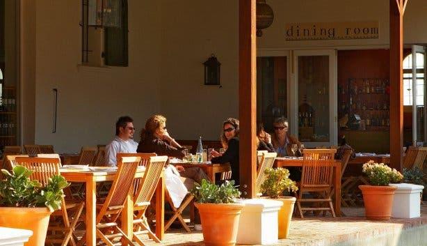 Dornier restaurant terrace