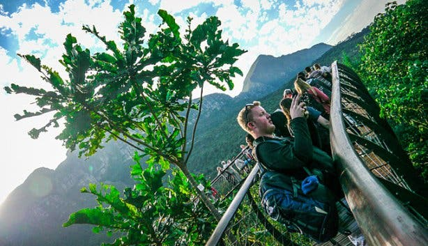 Kirstenbosch walkway thanks to VAC working overseas SA
